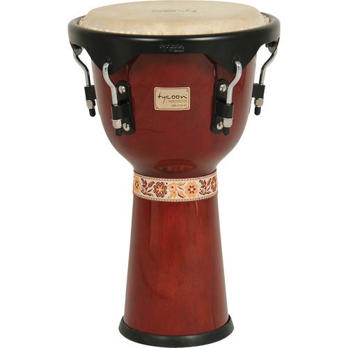 """Tycoon Percussion 12"""" Artist Series Djembe (Mahogany)"""