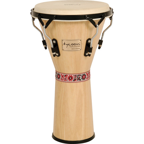 "Tycoon Percussion 12"" Artist Series Djembe (Natural)"