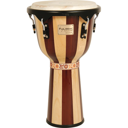 "Tycoon Percussion 12"" Artist Series Djembe (Retro)"