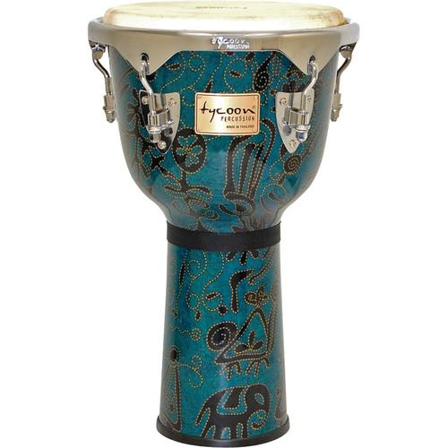 """Tycoon Percussion 12"""" Master Fantasy Djembe (Bali)"""