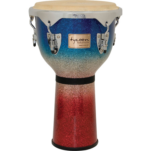 "Tycoon Percussion 12"" Platinum Series Djembe (Tri-Fade)"