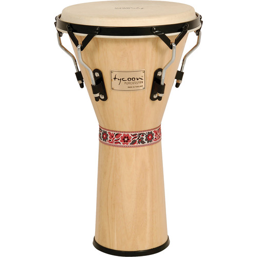"Tycoon Percussion 12"" Supremo Series Djembe (Natural)"