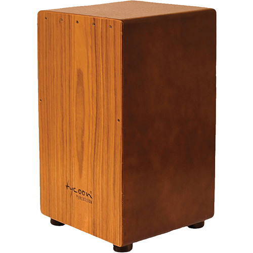 Tycoon Percussion Asian Hardwood Frontplate Siam Oak Body Box Cajon