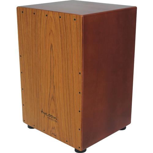 Tycoon Percussion 35 Series Asian Hadwood Frontplate Siam Oak Body Cajon