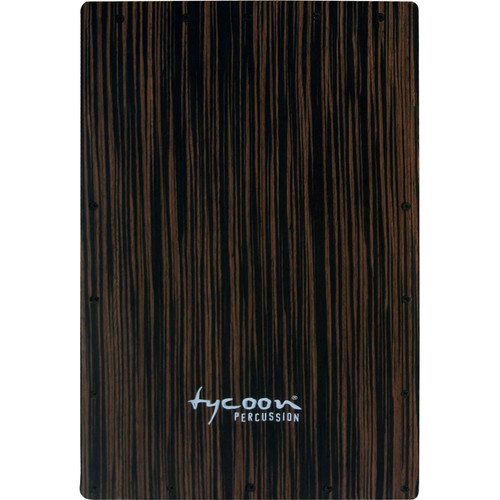 Tycoon Percussion Ebony Front Plate Replacement for TKE-29 Cajon