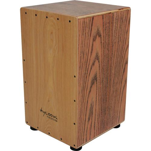 Tycoon Percussion American White Ash Frontplate American Red Oak Body Box Cajon