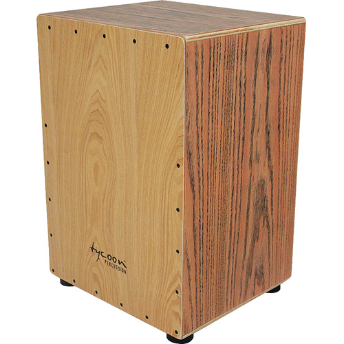 Tycoon Percussion 35 Series American White Ash Frontplate American Red Oak Body Cajon