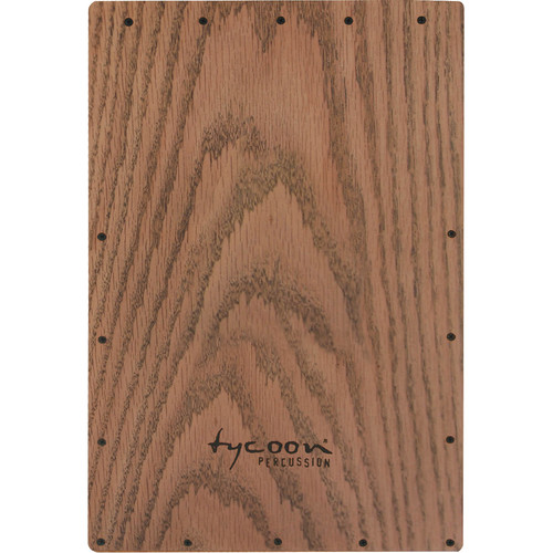 Tycoon Percussion American Red Oak Front Plate Replacement for TKGRB-29 Cajon