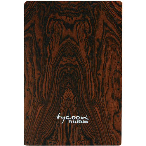 Tycoon Percussion Legacy Series Bocote Front Plate Replacement for TKLE-29BOC Cajon