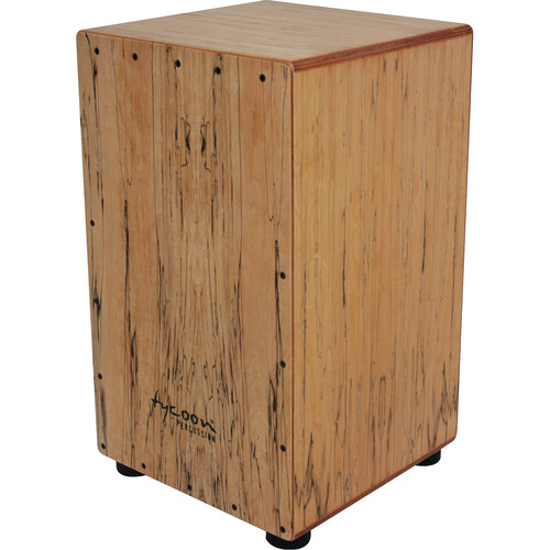 Tycoon Percussion Legacy Series Spalted Maple Cajon