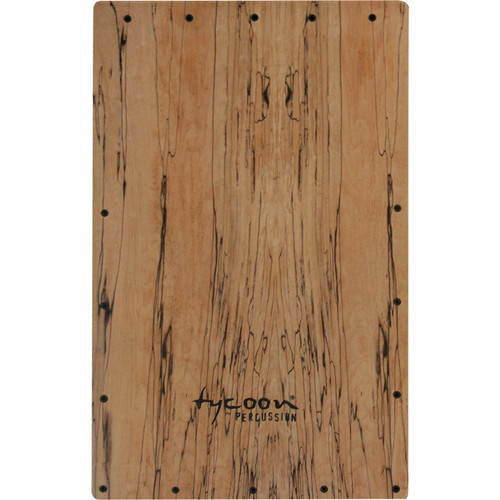 Tycoon Percussion Legacy Series Spalted Maple Front Plate Replacement for TKLE-29SPM Cajon