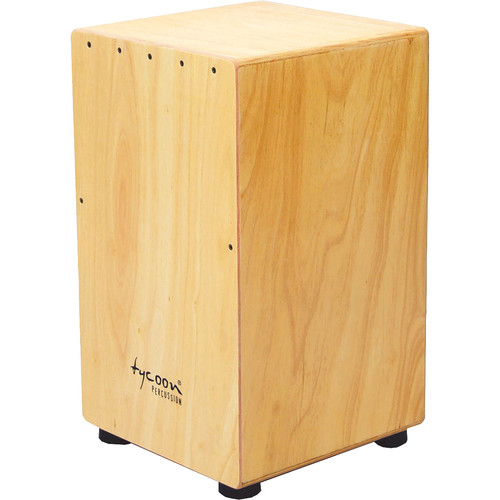 Tycoon Percussion Siam Oak Frontplate Siam Oak Body Box Cajon