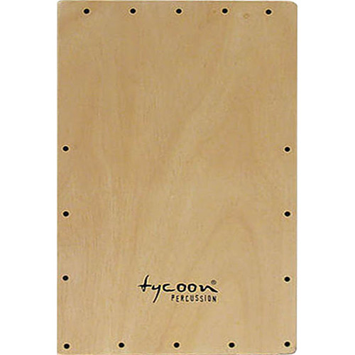 Tycoon Percussion Siam Oak Front Plate Replacement for TKO-29, TKRE-29 and TKO-29 SW Cajon