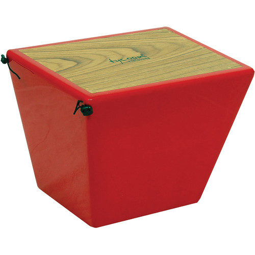 Tycoon Percussion Quinto Cajon (Red)