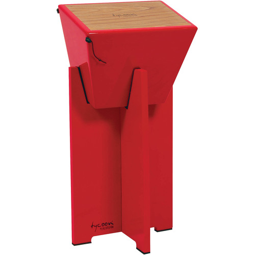 Tycoon Percussion Quinto Cajon Stand (Red)