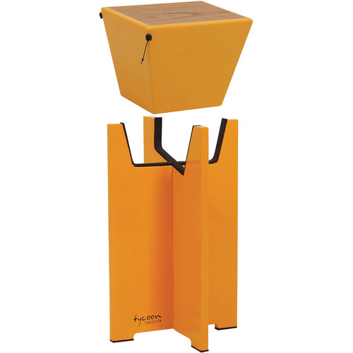 Tycoon Percussion Quinto Cajon Stand (Yellow)