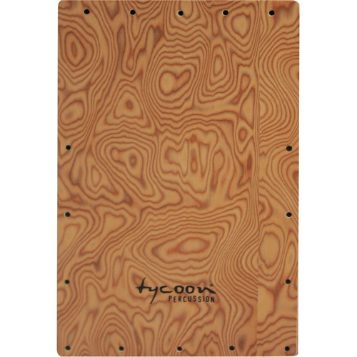 Tycoon Percussion Makah Burl Front Plate Replacement for TKSRB-29 Cajon