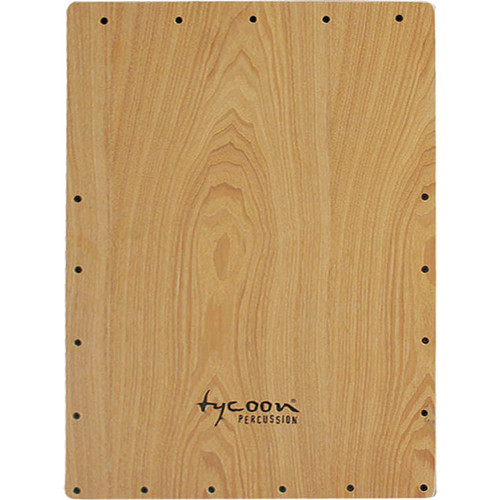 Tycoon Percussion American Ash Front Plate Replacement for TKT-35 Cajon