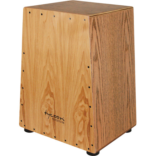 Tycoon Percussion Vertex Series American White Ash Frontplate American Red Oak Body Cajon