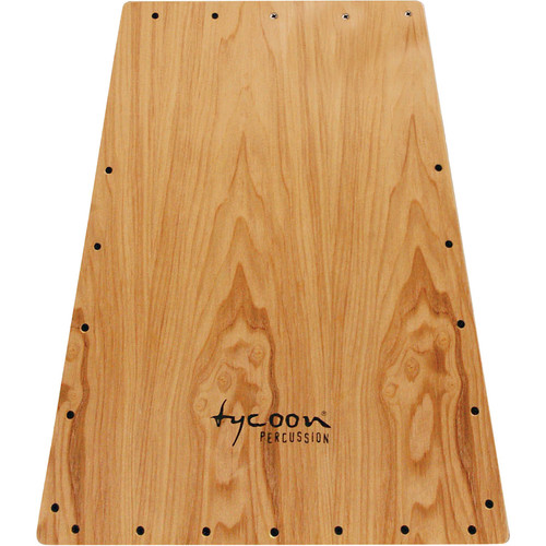 Tycoon Percussion Vertex Series American Ash Front Plate Replacement for TKVXG-29 Cajon