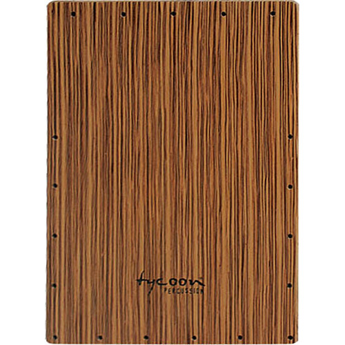 Tycoon Percussion Zebrano Series Front Plate Replacement for TKZ-35 Cajon