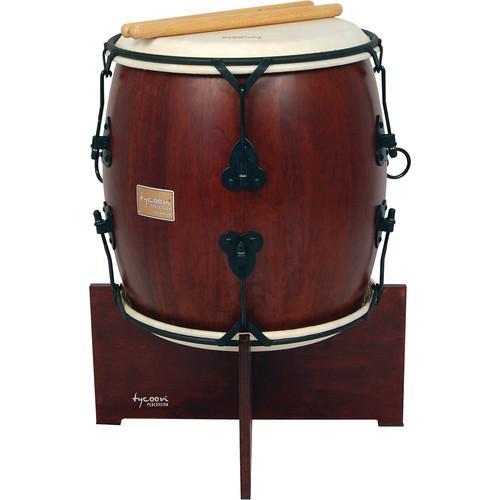 """Tycoon Percussion 16"""" Nagado Daiko (Ancient Mahogany)"""