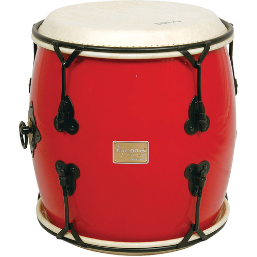 "Tycoon Percussion 16"" Nagado Daiko (Red)"