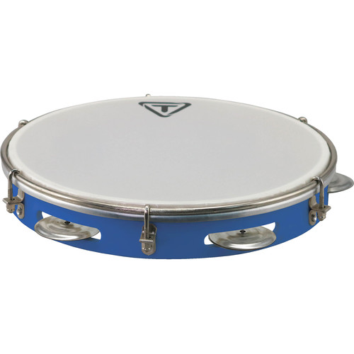 """Tycoon Percussion 10"""" ABS Pandeiro (Blue)"""