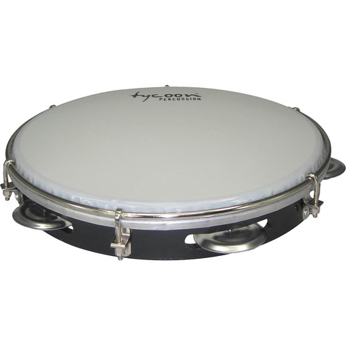 "Tycoon Percussion 10"" ABS Pandeiro (Black)"