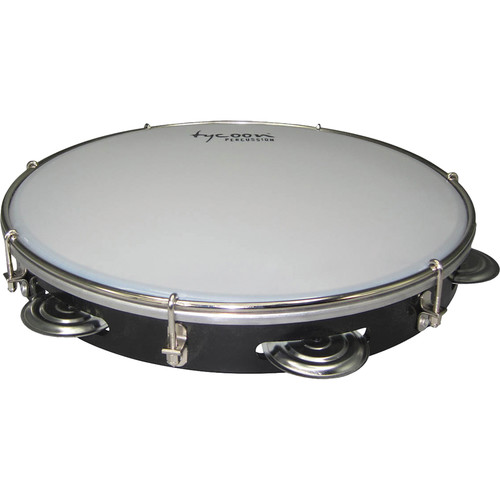 "Tycoon Percussion 12"" ABS Pandeiro (Black)"