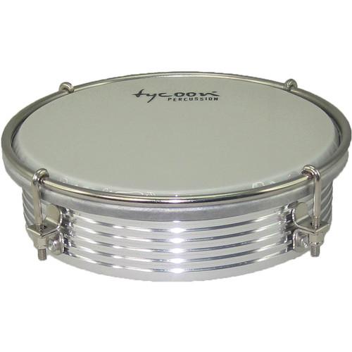 """Tycoon Percussion 6"""" ABS Tamborim (Aluminum)"""