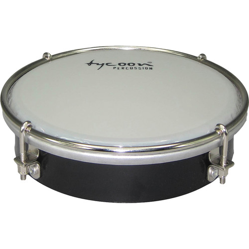 "Tycoon Percussion 6"" ABS Tamborim (Black)"