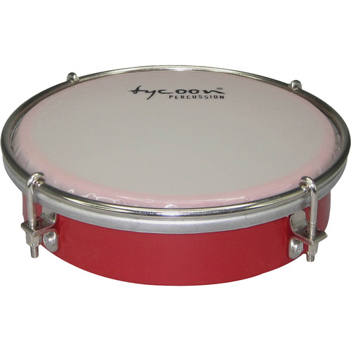 "Tycoon Percussion 6"" ABS Tamborim (Red)"