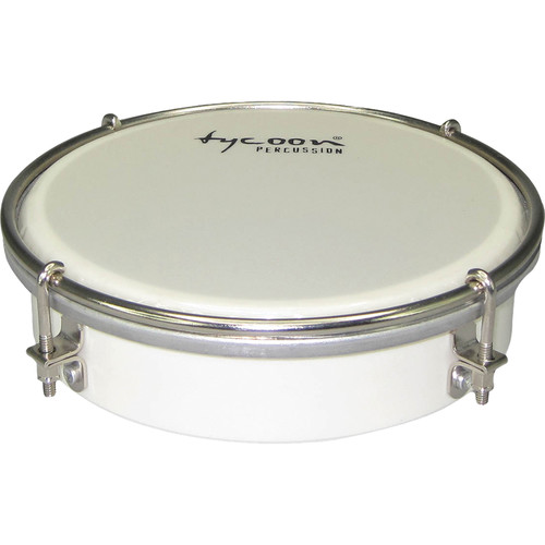 "Tycoon Percussion 6"" ABS Tamborim (White)"