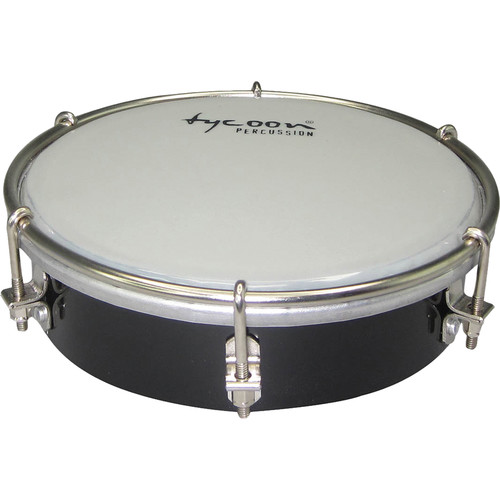 "Tycoon Percussion 6"" Wooden Tamborim (Black)"