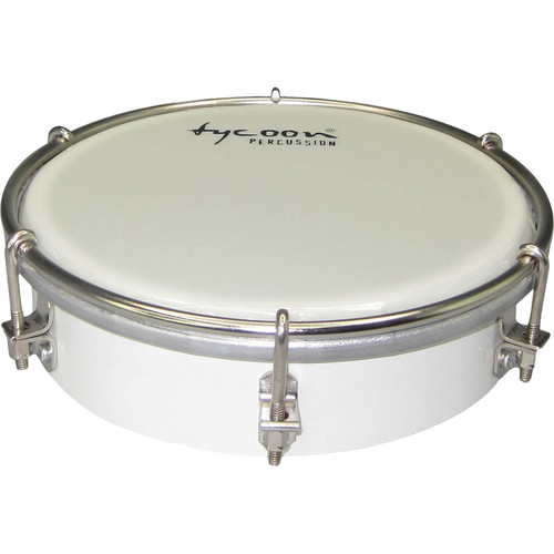 "Tycoon Percussion 6"" Wooden Tamborim (White)"