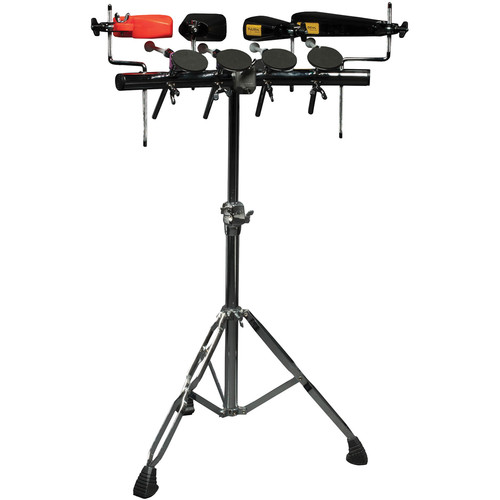 Tycoon Percussion 4-Piece Rhythm Rack with 4 Mounting Rods