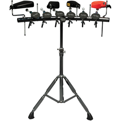Tycoon Percussion 6-Piece Rhythm Rack with 6 Mounting Rods
