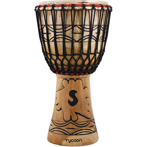 "Tycoon Percussion Traditional Series 10"" African Djembe (B-Stock)"