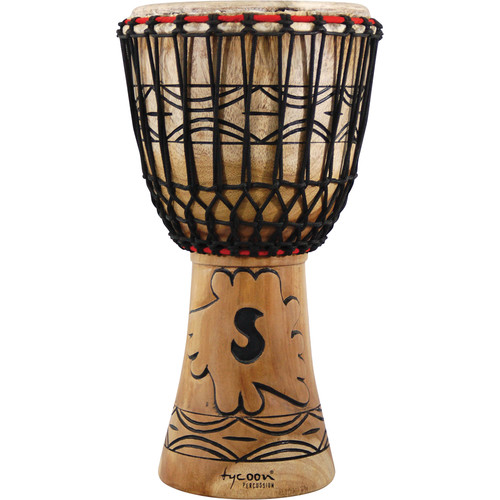 "Tycoon Percussion 12"" Traditional Series African Djembe"