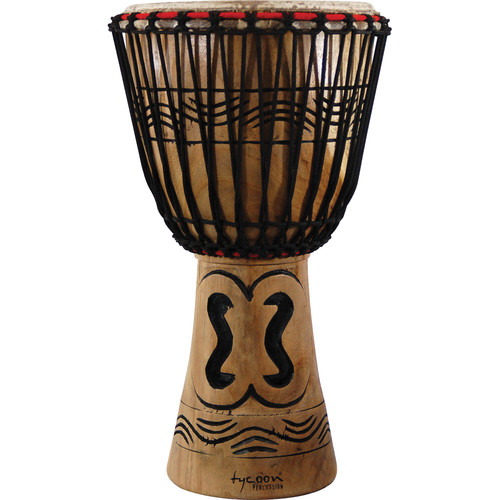 "Tycoon Percussion 13"" Traditional Series African Djembe"
