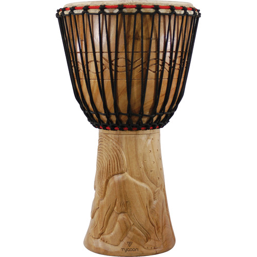 "Tycoon Percussion Traditional Series 14"" African Djembe (B-Stock)"