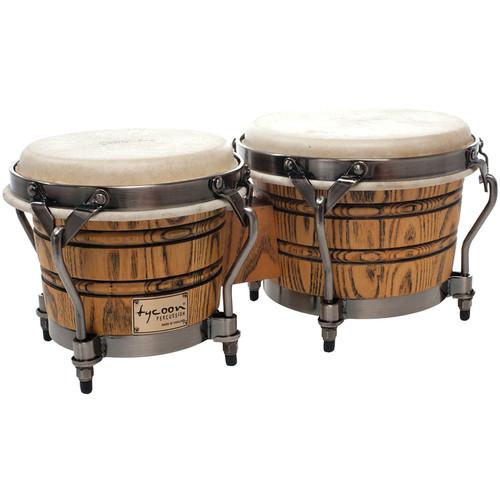 "Tycoon Percussion 7"" & 8.5"" Signature Grand Bongo Set"
