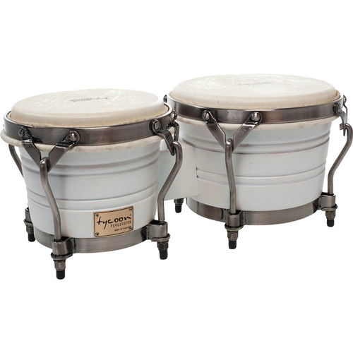 "Tycoon Percussion 7"" & 8.5"" Signature Pearl Bongo Set (Pearl)"
