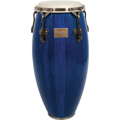 "Tycoon Percussion 10"" Signature Classic Series Requinto (Blue)"