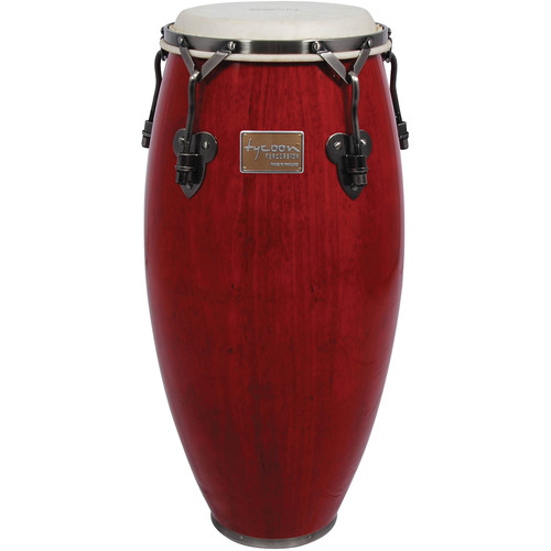 "Tycoon Percussion 10"" Signature Classic Series Requinto (Red)"