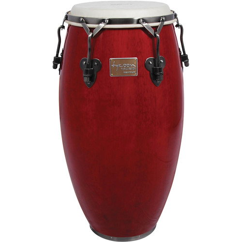 "Tycoon Percussion 11.75"" Signature Classic Series Conga (Red)"