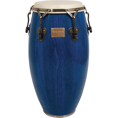 "Tycoon Percussion 11.75"" Signature Classic Series Conga (Blue)"