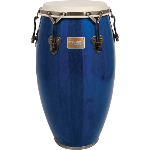 "Tycoon Percussion 12.5"" Signature Classic Series Tumba (Blue)"