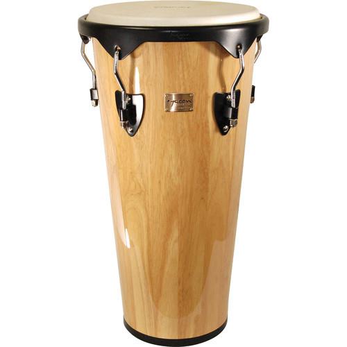 "Tycoon Percussion 12"" Key-Tuned Ashiko (Natural)"